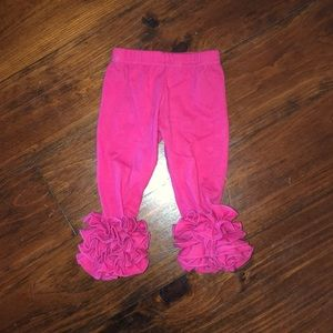 Other - Triple Ruffle Boutique Legging Size 6 months